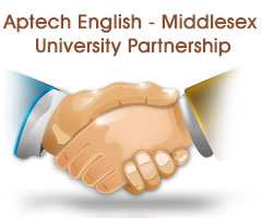 Aptech English - Middlesex University Partnership